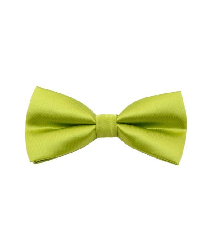 Бабочка арт. зеленая, однотонная