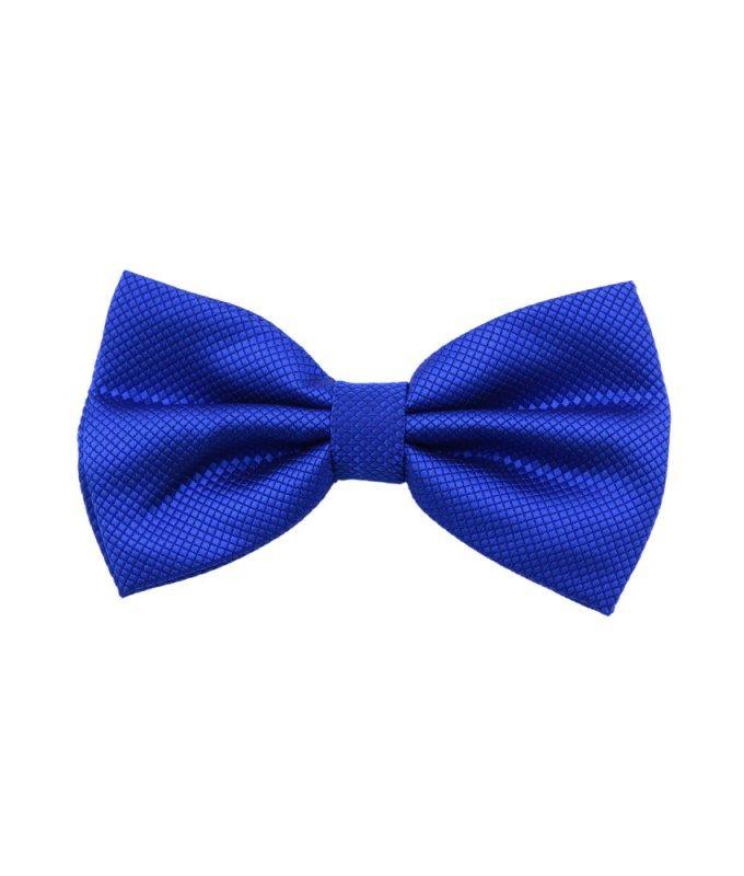 Бабочка Elsago синяя, однотонная