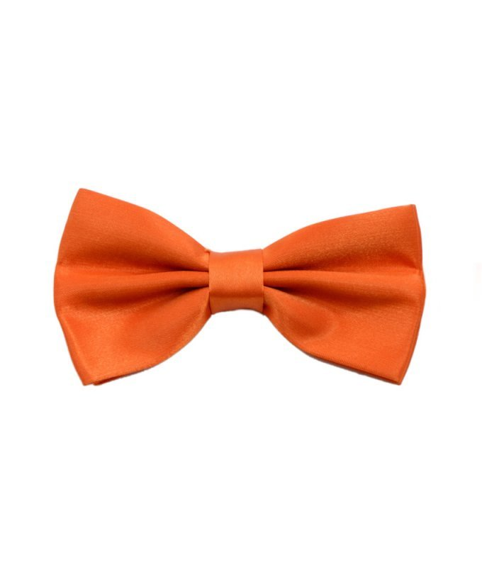 Бабочка Svyatnyh оранжевая, однотонная