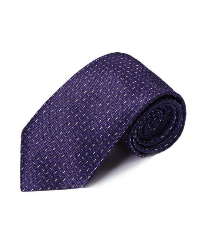 Галстук Andrew White фиолетовый, с узором