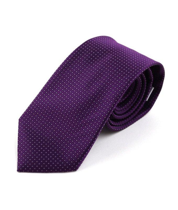 Галстук Berlot фиолетовый, мелкий орнамент