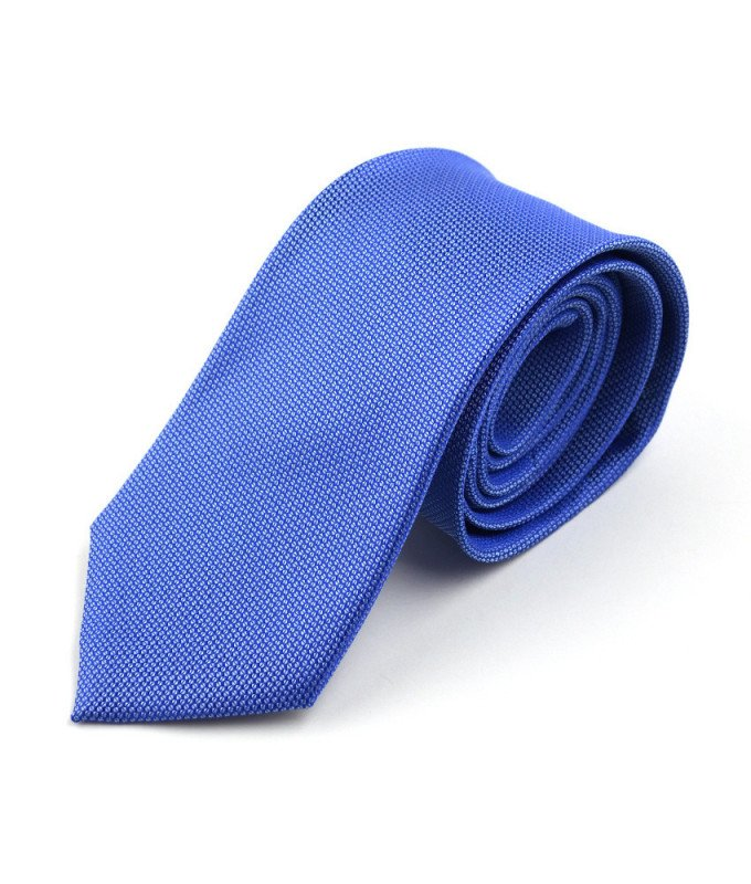 Галстук Berlot голубой, однотонный