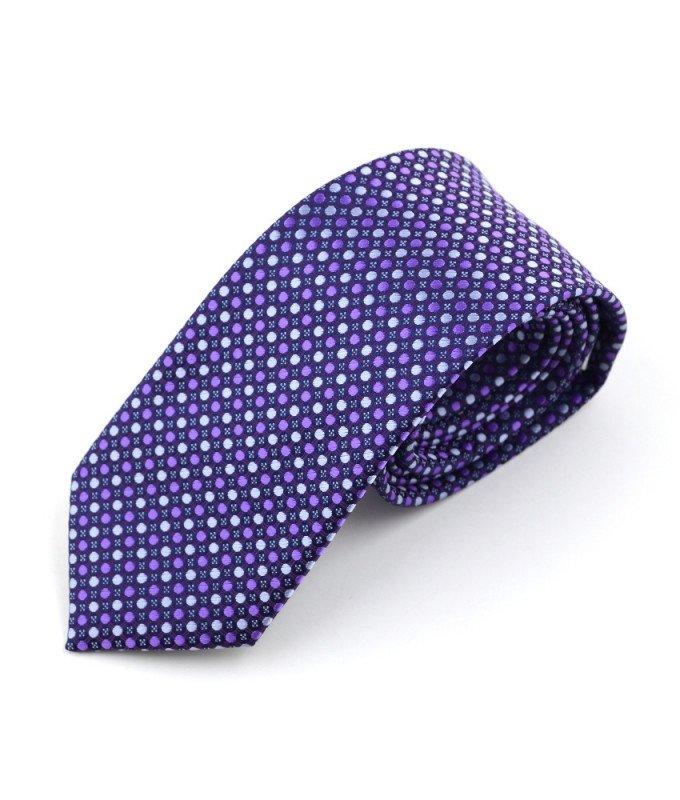 Галстук Berlot фиолетовый, с узором