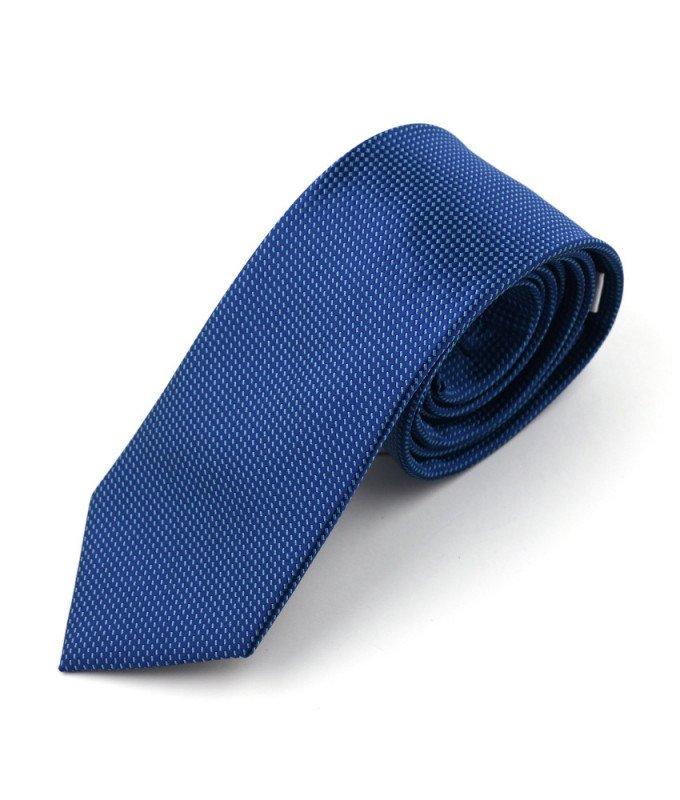Галстук Berlot синий, мелкий орнамент