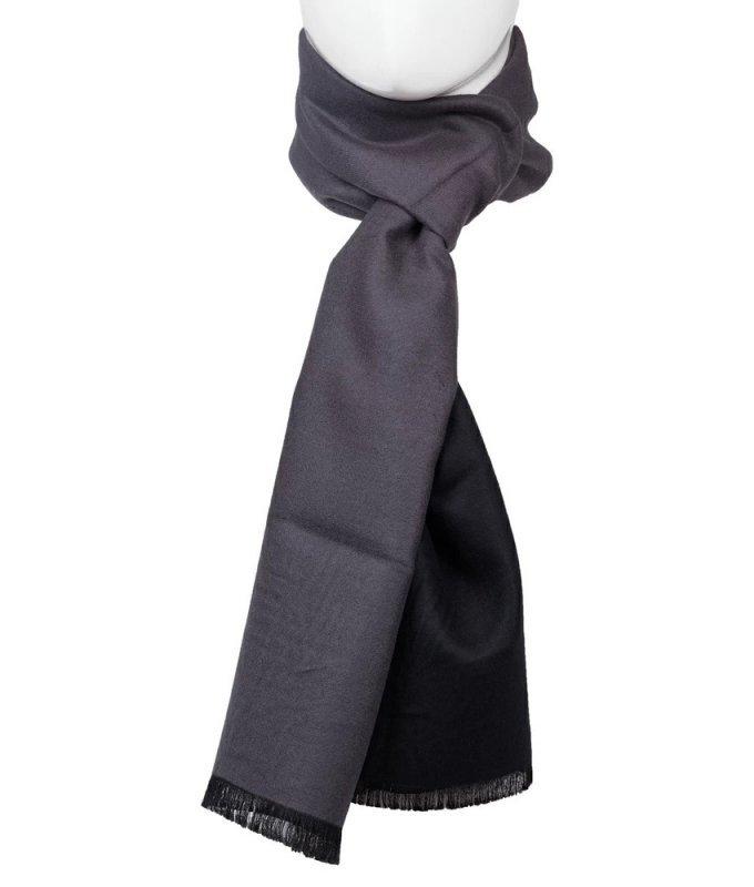 Шарф Roberto Gabbani серый, однотонный