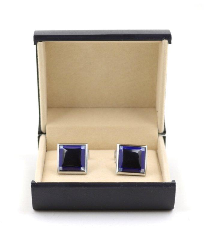 Запонки Elsago фиолетовые
