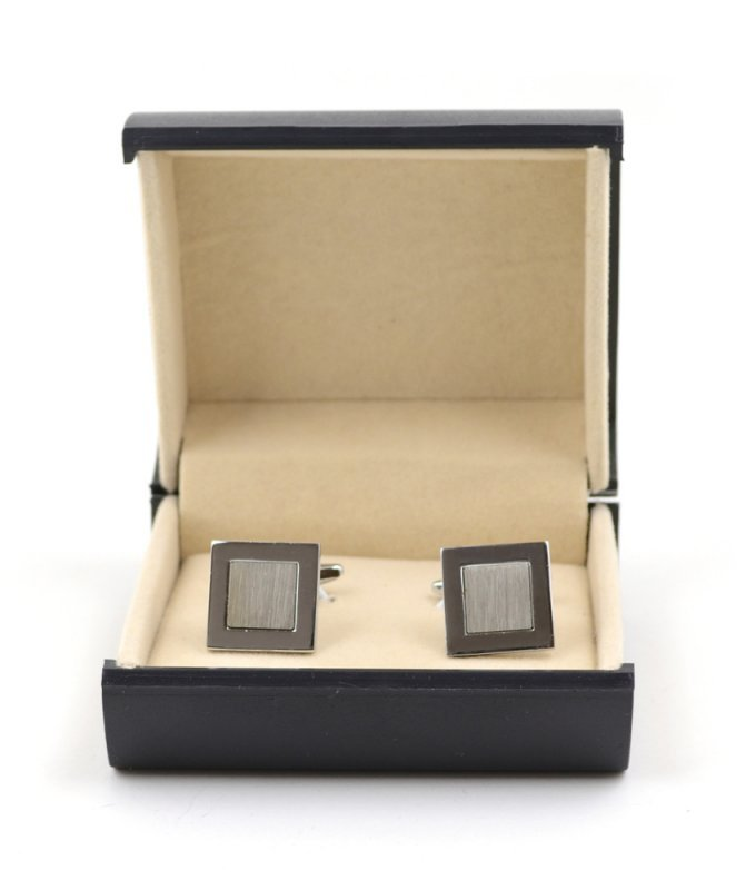 Запонки Elsago квадратные металлические