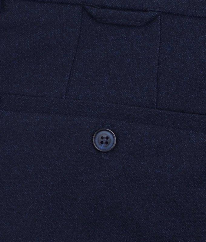 Брюки классические Magmen синие, однотонные, утепленные (плотная ткань)