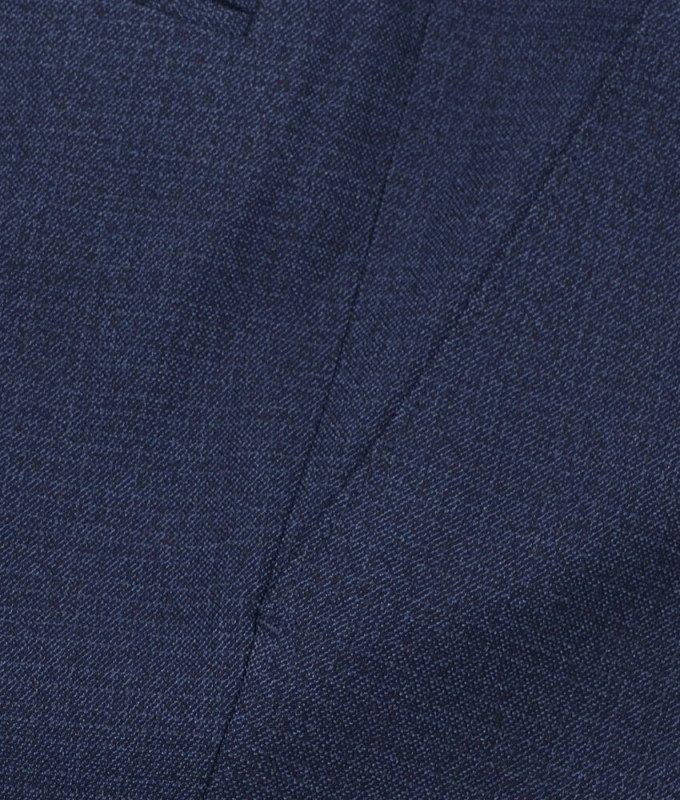 Брюки классические Truvor синие, мелкий орнамент