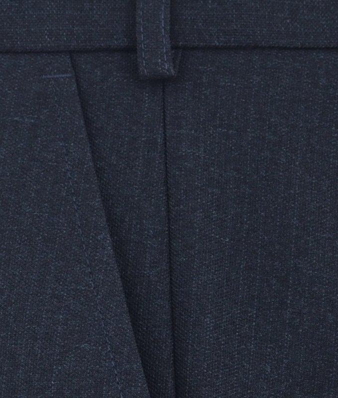 Брюки классические TS collection синие, однотонные, утепленные (плотная ткань)