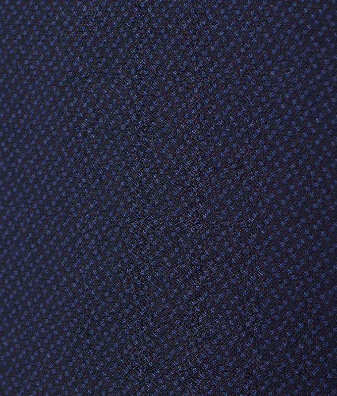 Костюм Boston синий, мелкий орнамент, приталенный силуэт