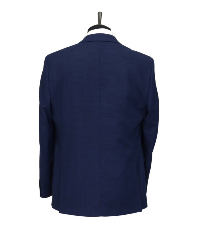Костюм DimArk синий, однотонный, классический силуэт