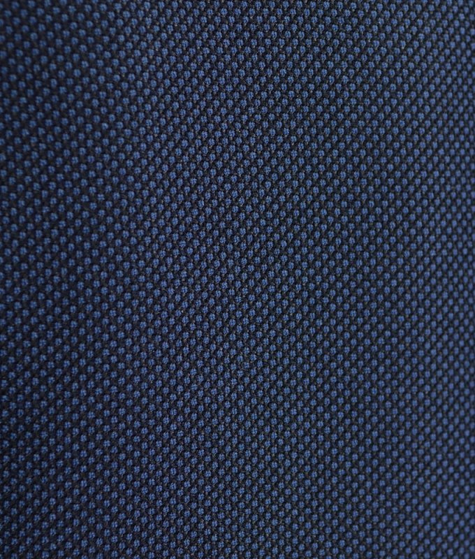 Костюм Truvor синий, мелкий орнамент, приталенный силуэт