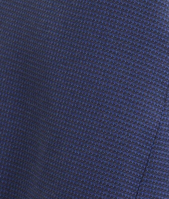 Костюм тройка Truvor синий, в клетку, приталенный силуэт