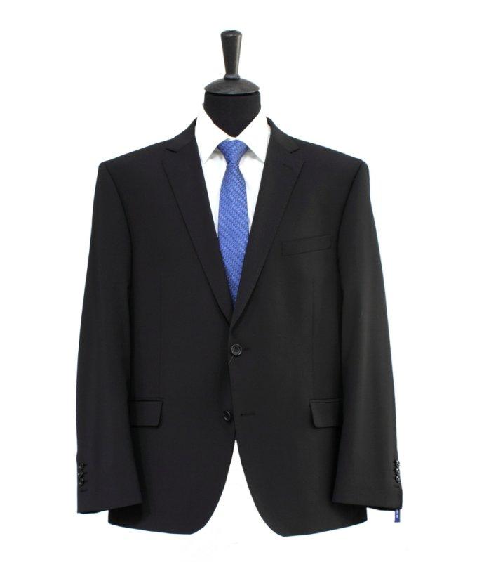Костюм Truvor темно-коричневый, однотонный, полуприталенный силуэт