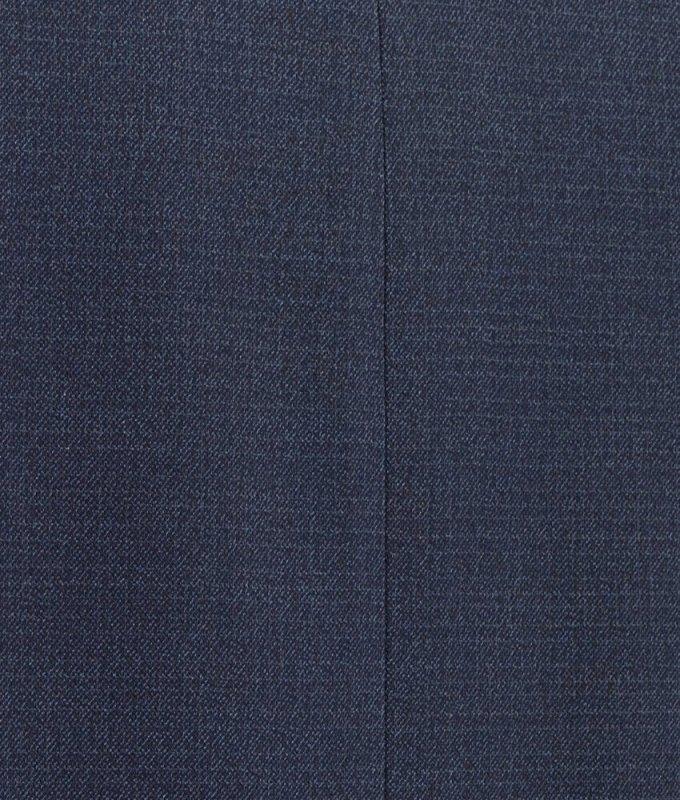 Костюм Truvor синий, мелкий орнамент, классический силуэт