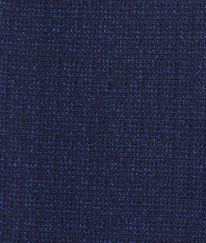 Костюм Truvor синий, мелкий орнамент, полуприталенный силуэт