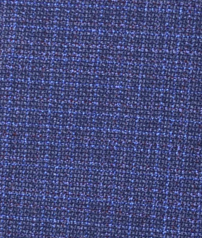 Костюм Truvor синий, однотонный, приталенный силуэт
