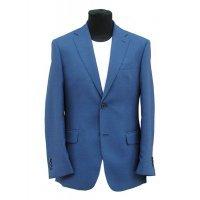 Пиджак Truvor синий, однотонный, очень приталенный силуэт