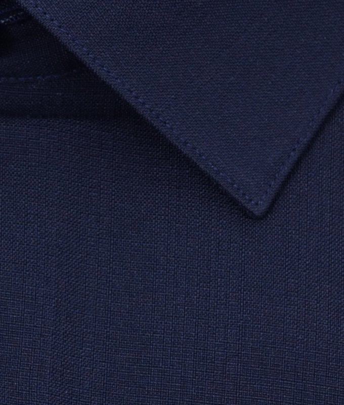 Рубашка Berlot черная, однотонная, классический силуэт, длинный рукав
