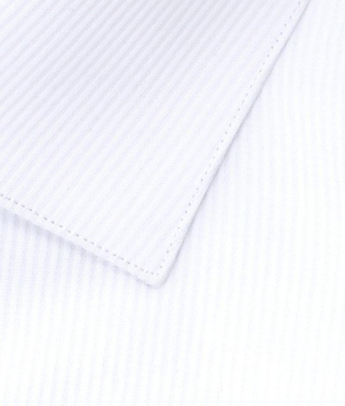 Рубашка Berlot белая, однотонная, классический силуэт, длинный рукав