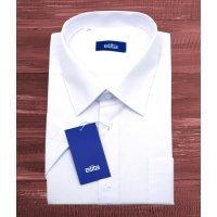 Рубашка Elita белая, однотонная, классический силуэт