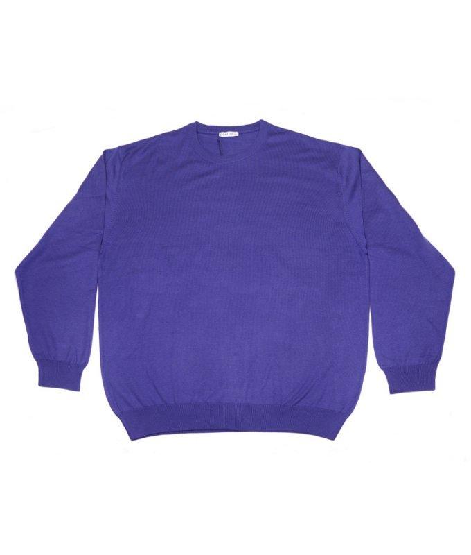 Джемпер Berlot фиолетовый, однотонный