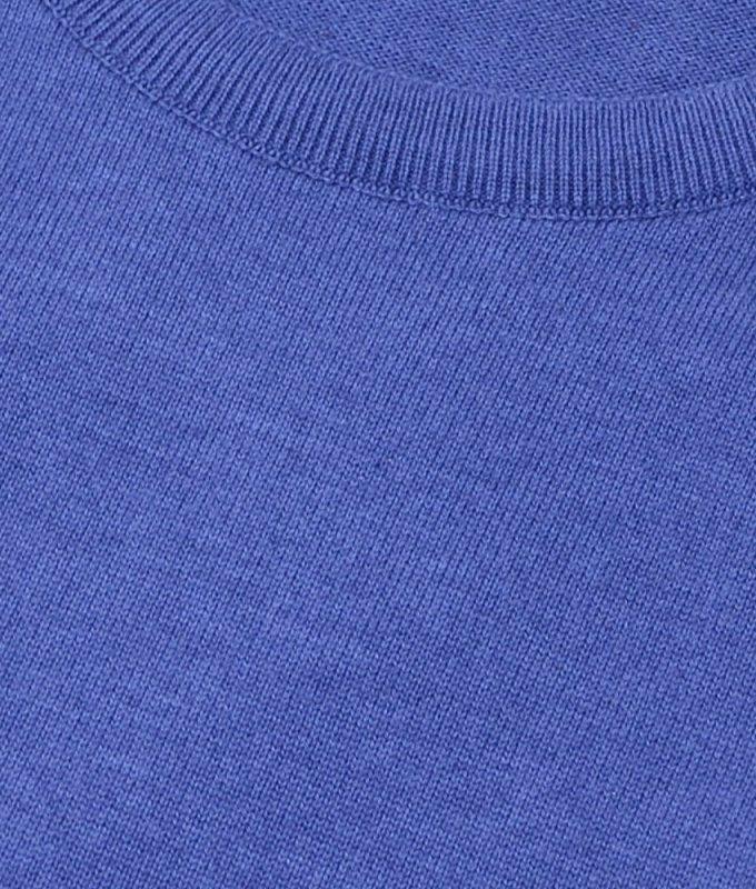 Джемпер Berlot синий, однотонный