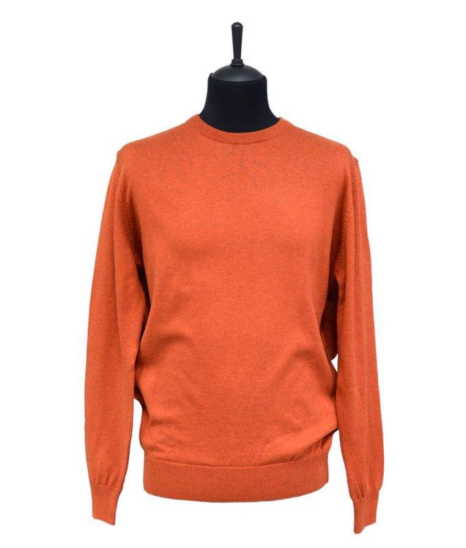 Джемпер Berlot оранжевый, однотонный