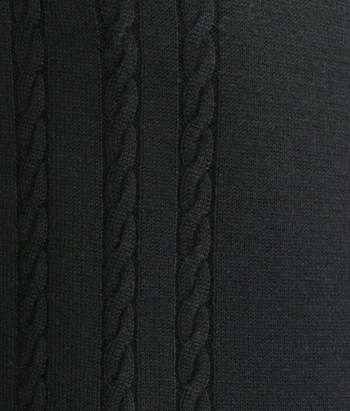 Свитер Grostyle черный, с узором