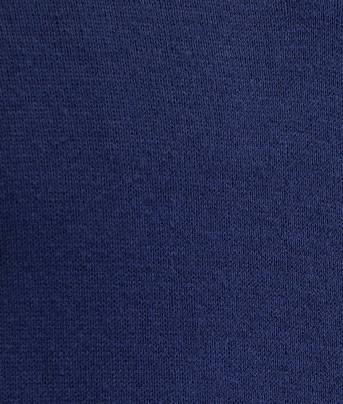 Джемпер-поло Berlot синее, однотонное