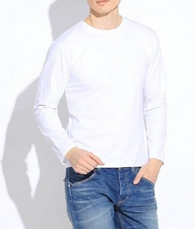 Лонгслив Lario Covaldi белый, однотонный