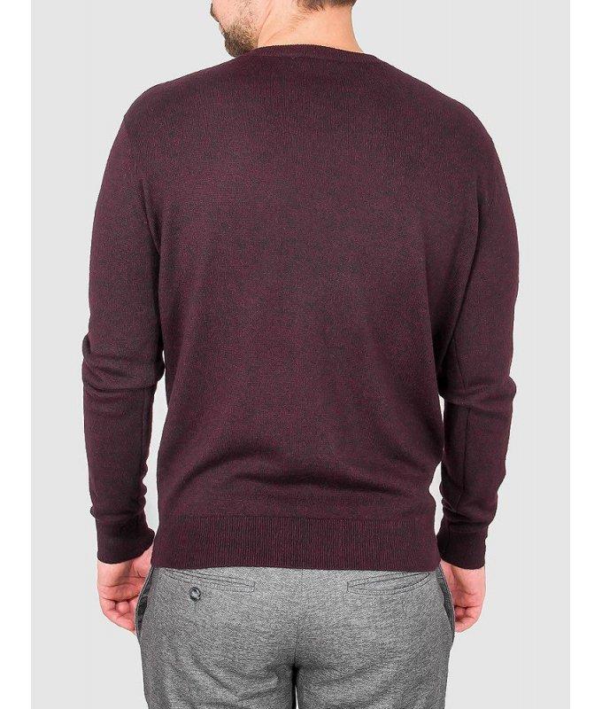 Пуловер Greg красный, однотонный
