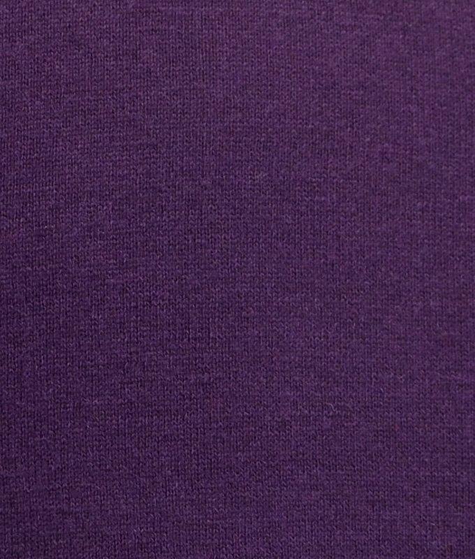 Пуловер John Jeniford фиолетовый, однотонный