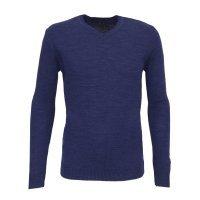 Пуловер Svyatnyh синий, однотонный