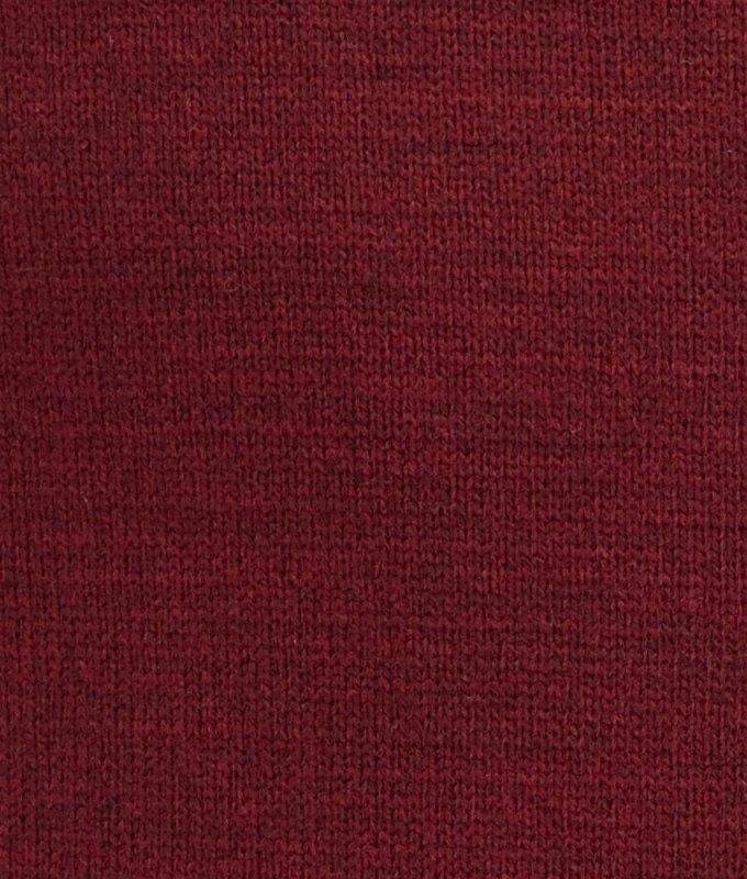 Пуловер Svyatnyh бордовый, однотонный