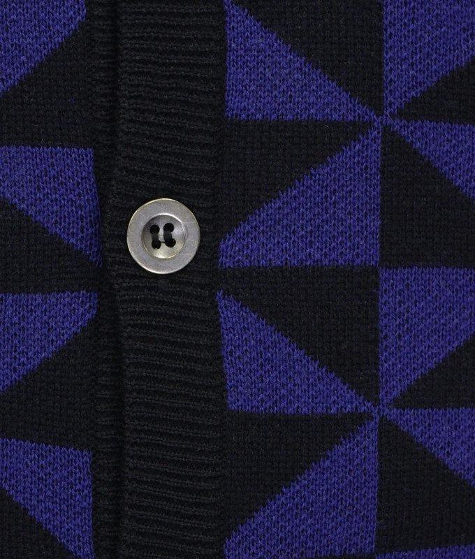 Жилет Grostyle фиолетовый, мелкий орнамент