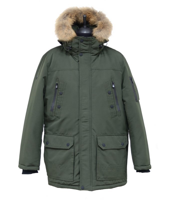 Куртка BOSOMI зеленая