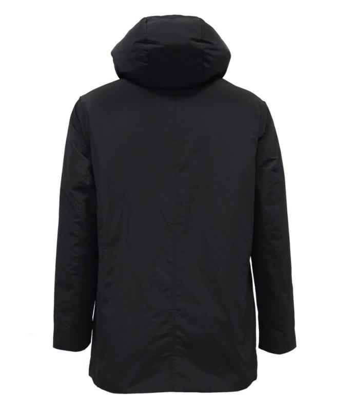 Куртка-плащ TAIS черная