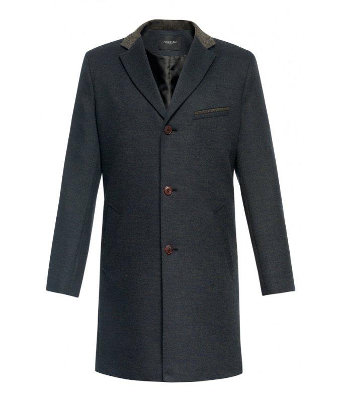 Пальто Alexander демисезонное, темно-серое