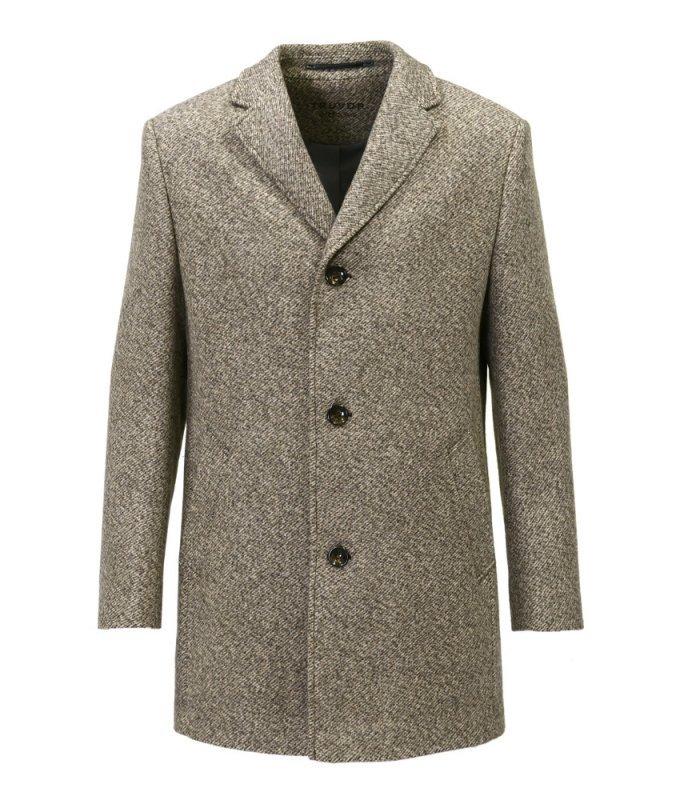 Пальто Truvor демисезонное, бежевое