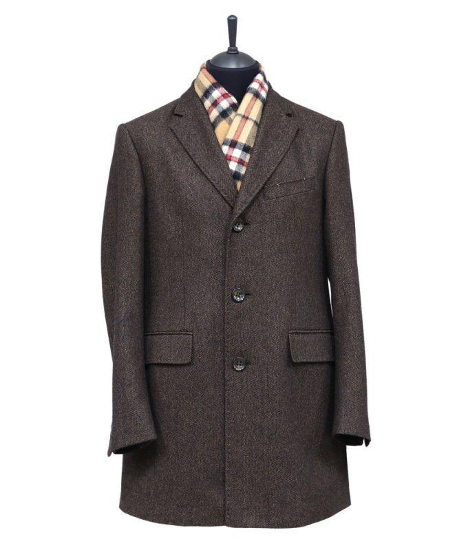Пальто Truvor демисезонное, коричневое