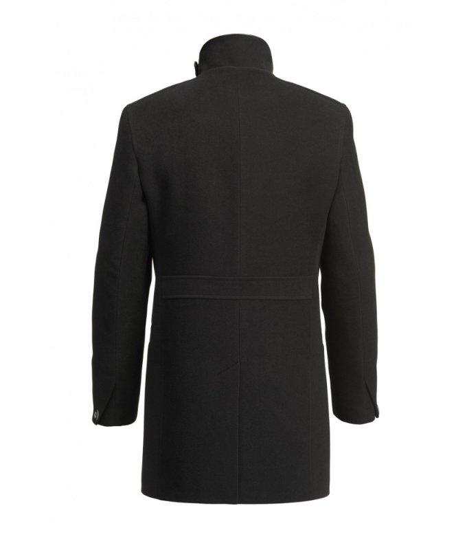 Пальто Alexander демисезонное, двубортное, черное