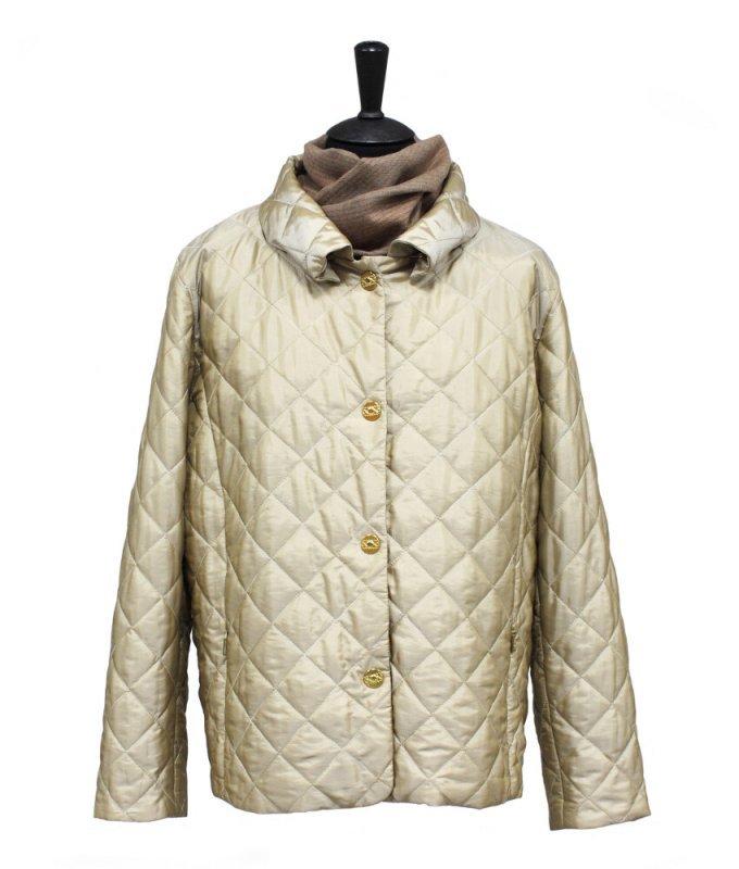 Куртка женская Hagenson бежевая/молочная