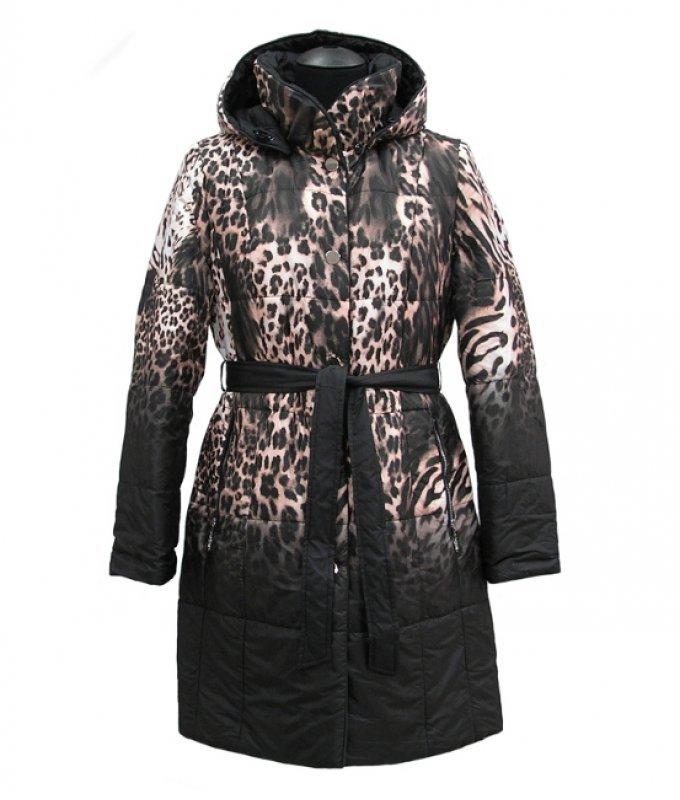 Пальто женское Mirage коричневое